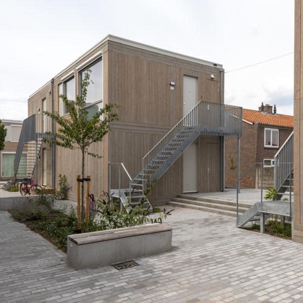 Flexwoningen in Tongelre, Eindhoven